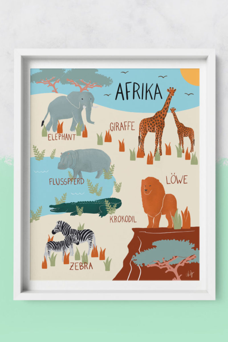 Framed-Art Afrika