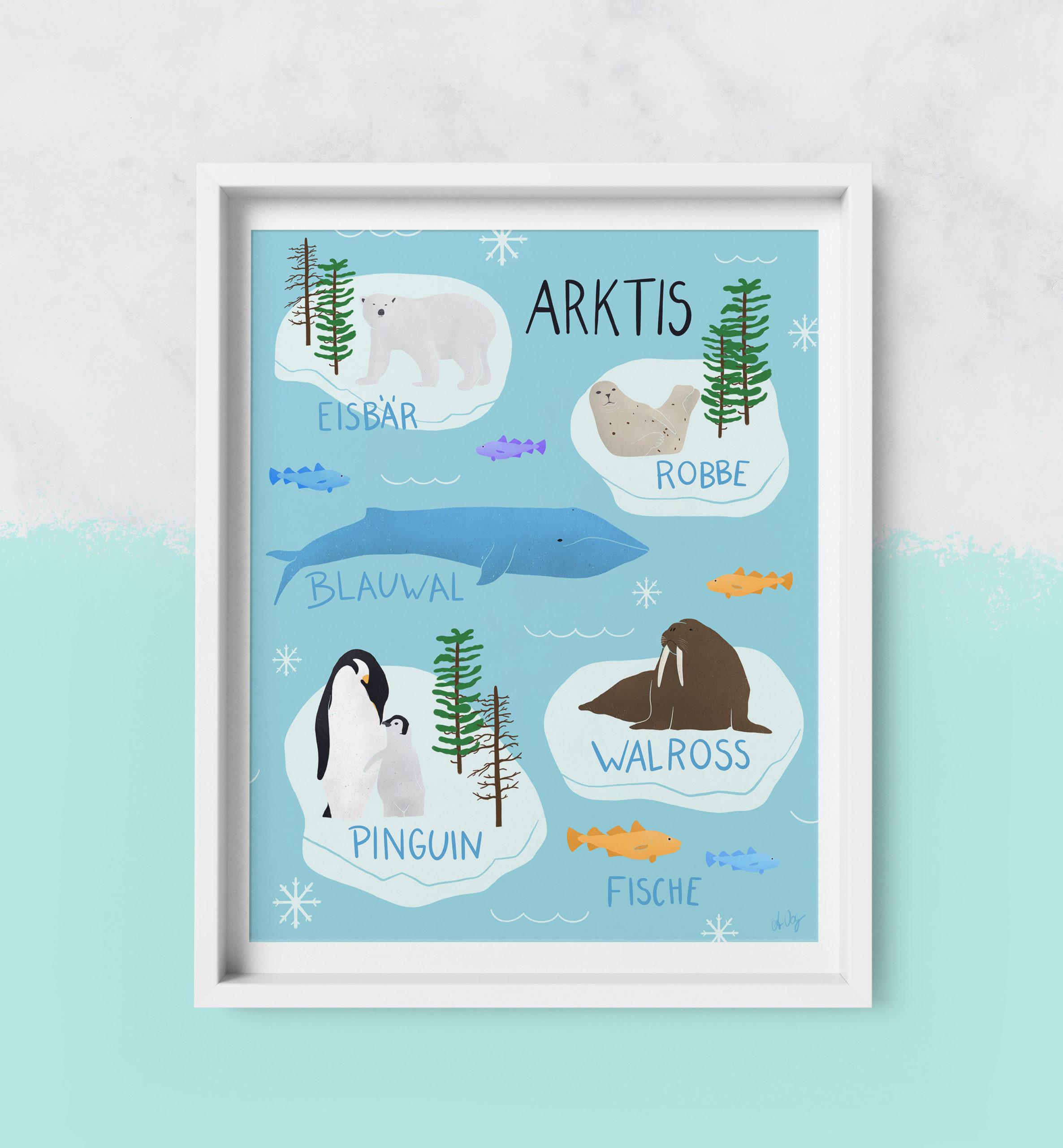 Framed-Art Arktis
